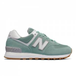 New Balance 574 Women's Sneakers Shoes - Storm Blue (WL574ESY)