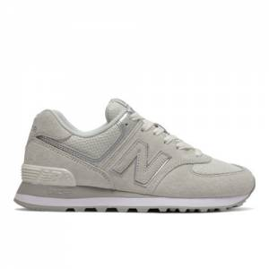 New Balance 574 Women's Running Classics Shoes - Off White (WL574EX)