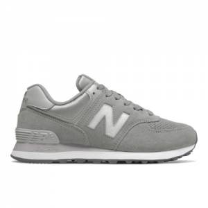 New Balance 574 Holiday Sparkler Women's Shoes - Grey (WL574FHC)