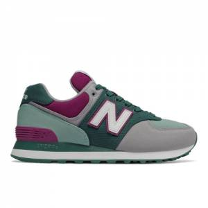 New Balance 574 Outdoor Patch Women's Shoes - Green (WL574INC)
