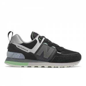 New Balance WL574IV2 Women's Lifestyle Shoes - Black (WL574IU2)
