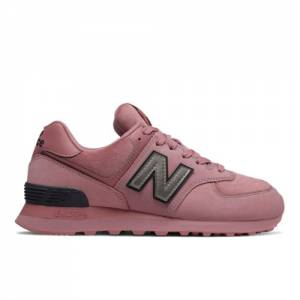 New Balance 574 Women's Shoes - Rose (WL574LDJ)