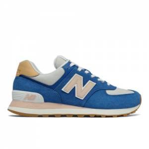 New Balance 574 Women's Lifestyle Shoes - Blue (WL574NU2)