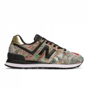 New Balance 574 Sweet Nectar Women's Shoes - Floral (WL574SNA)