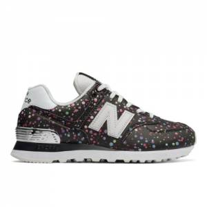 New Balance 574 Women's Shoes - Black (WL574TAA)