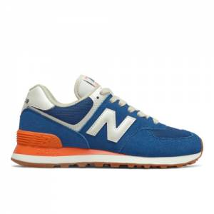 New Balance 574 Women's Lifestyle Shoes - Blue (WL574VA2)