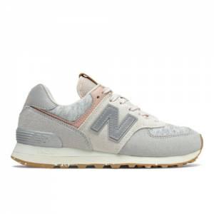 New Balance 574 Women's Lifestyle Shoes - Grey (WL574WD2)