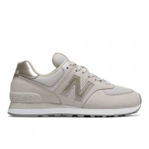 New Balance 574 Women's Shoes - Off White (WL574WNO)