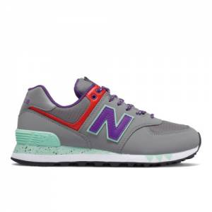 New Balance 574 Women's Lifestyle Shoes - Grey (WL574WOA)