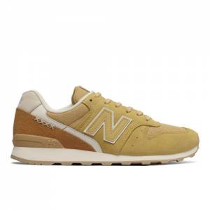 New Balance 696 Women's Running Classics Shoes - Beige (WL696BC)