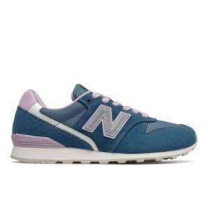 New Balance 996 Women's Running Classics Shoes - Blue (WL996AE)
