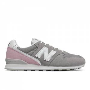 New Balance 996 Women's Running Classics Shoes - Grey (WL996BC)