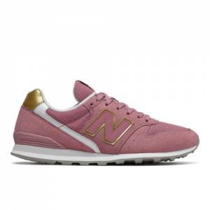 New Balance 996 Women's Running Shoes - Pink (WL996CP)