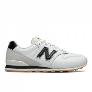 New Balance 996 Women's Lifestyle Shoes - White / Black (WL996FPF)