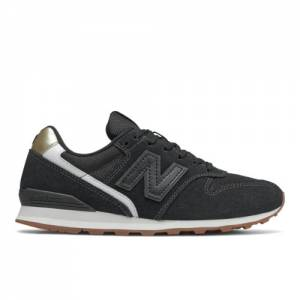 New Balance 996 Women's Running Classics Shoes - Black (WL996NA)