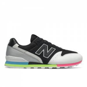 New Balance WL996V2 Women's Lifestyle Shoes - Black / White (WL996PR2)