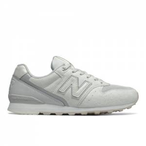 New Balance 996 Women's Running Classics Shoes - Silver (WL996QE)