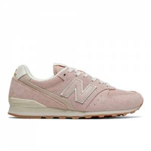 New Balance 996 Women's Running Classics Shoes - Pink (WL996VHD)