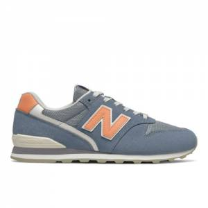 New Balance WL996V2 Women's Lifestyle Shoes - Blue (WL996WA2)