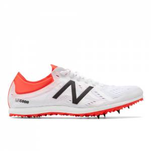 New Balance LD5000v5 Spike Women's Track Spikes Shoes - White / Red (WLD5KWR5)