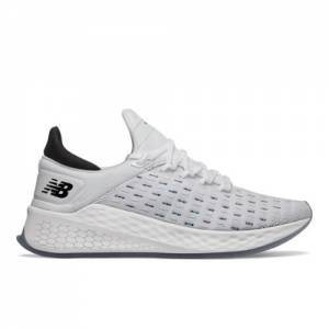 New Balance Fresh Foam Lazr v2 HypoKnit Women's Running Shoes - White (WLZHKRW2)
