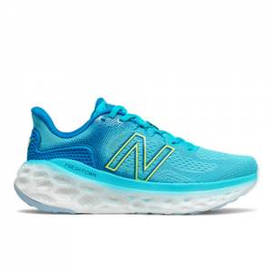 New Balance Fresh Foam More v3 Women's Running Shoes - Blue (WMORLV3)