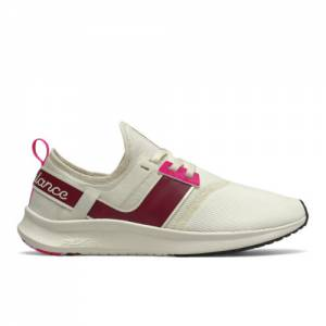 New Balance Women's Lifestyle NB Nergize Sport Shoes - Off White (WNRGSAG1)