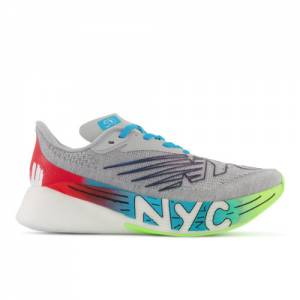 New Balance NYC Marathon Edition FuelCell RC Elite v2 Running Shoes - Grey (WRCELNY2)