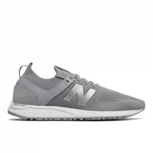New Balance 247 Engineered Mesh Women's Sport Style Shoes - Grey / Silver (WRL247DA)