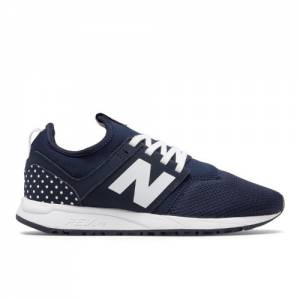 New Balance 247 Fun Pack Women's Sport Style Shoes - Navy / White (WRL247PD)