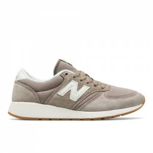 New Balance 420 Re-Engineered Women's Sport Style Sneakers Shoes - Tan / Off White (WRL420TC)