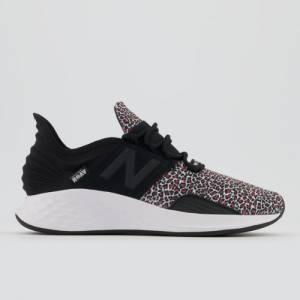New Balance Fresh Foam Roav Women's Lifestyle Shoes - Black / Pink (WROAVBV)