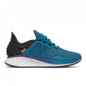 New Balance Fresh Foam Roav Boundries Women's Running Shoes - Blue (WROAVPT)
