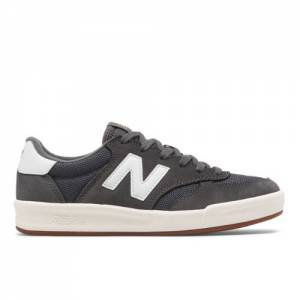 New Balance 300 Women's Court Classics Shoes - Dark Grey (WRT300FG)