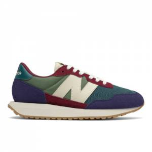 New Balance 237 Women's Lifestyle Shoes - Green (WS237MA1)