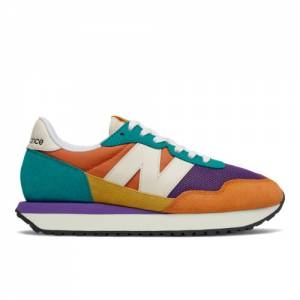New Balance 237 Women's Lifestyle Shoes - Orange (WS237PK1)