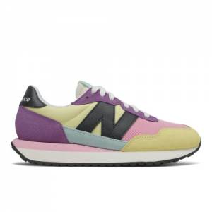 New Balance 237 Women's Lifestyle Shoes - Yellow / Purple (WS237PW1)