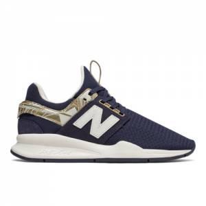 New Balance 247 Geo Metallic Women's Sport Style Shoes - Pigment (WS247HCM)