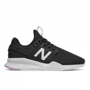 New Balance 247 Women's Sport Style Shoes - Black (WS247TE)
