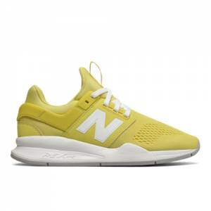 New Balance 247 Classic Women's Sport Style Shoes - Yellow (WS247UG)