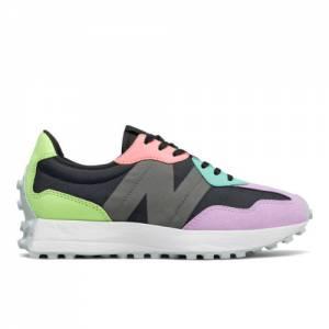New Balance 327 Women's Lifestyle Shoes - Black / Purple (WS327PB)