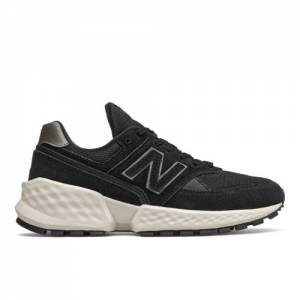 New Balance Fresh Foam 574 Sport Women's Sport Style Shoes - Black (WS574ATH)