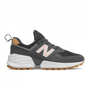 New Balance 574 Sport Women's Sport Style Shoes - Dark Grey (WS574JSA)