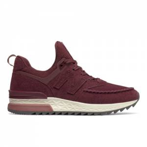 New Balance 574 Sport Women's Shoes - Dark Red (WS574PSA)