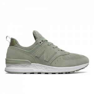 New Balance 574 Sport Women's Shoes - Green (WS574SND)