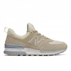 New Balance 574 Sport Women's Sport Style Sneakers Shoes - Beige (WS574SNE)