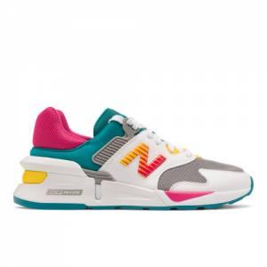 New Balance 997 Sport Women's Sport Style Shoes - White / Green (WS997SNA)