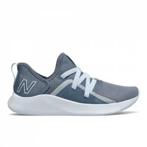 New Balance Beaya Women's Slip On Shoes - Grey / Blue (WSBEYLG)