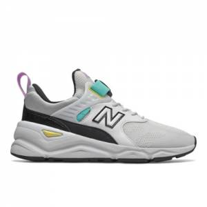 New Balance X-90 Women's Sport Style Shoes - White (WSX90BGY)