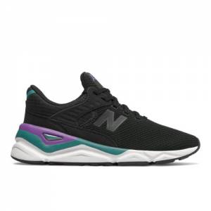New Balance X-90 Women's Sport Style Shoes - Black (WSX90CLB)